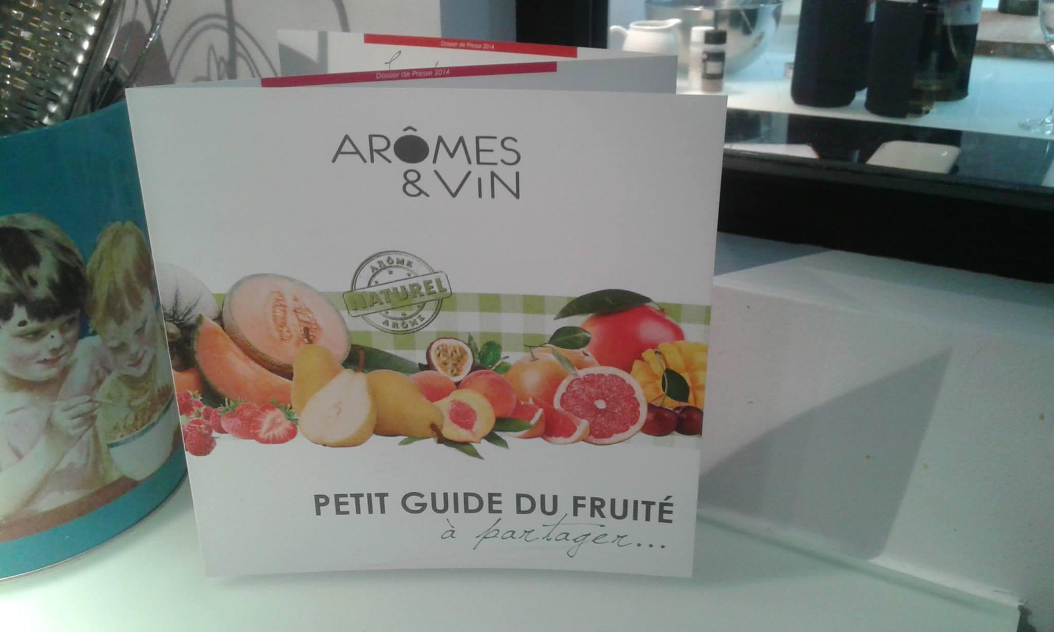aromes et vin