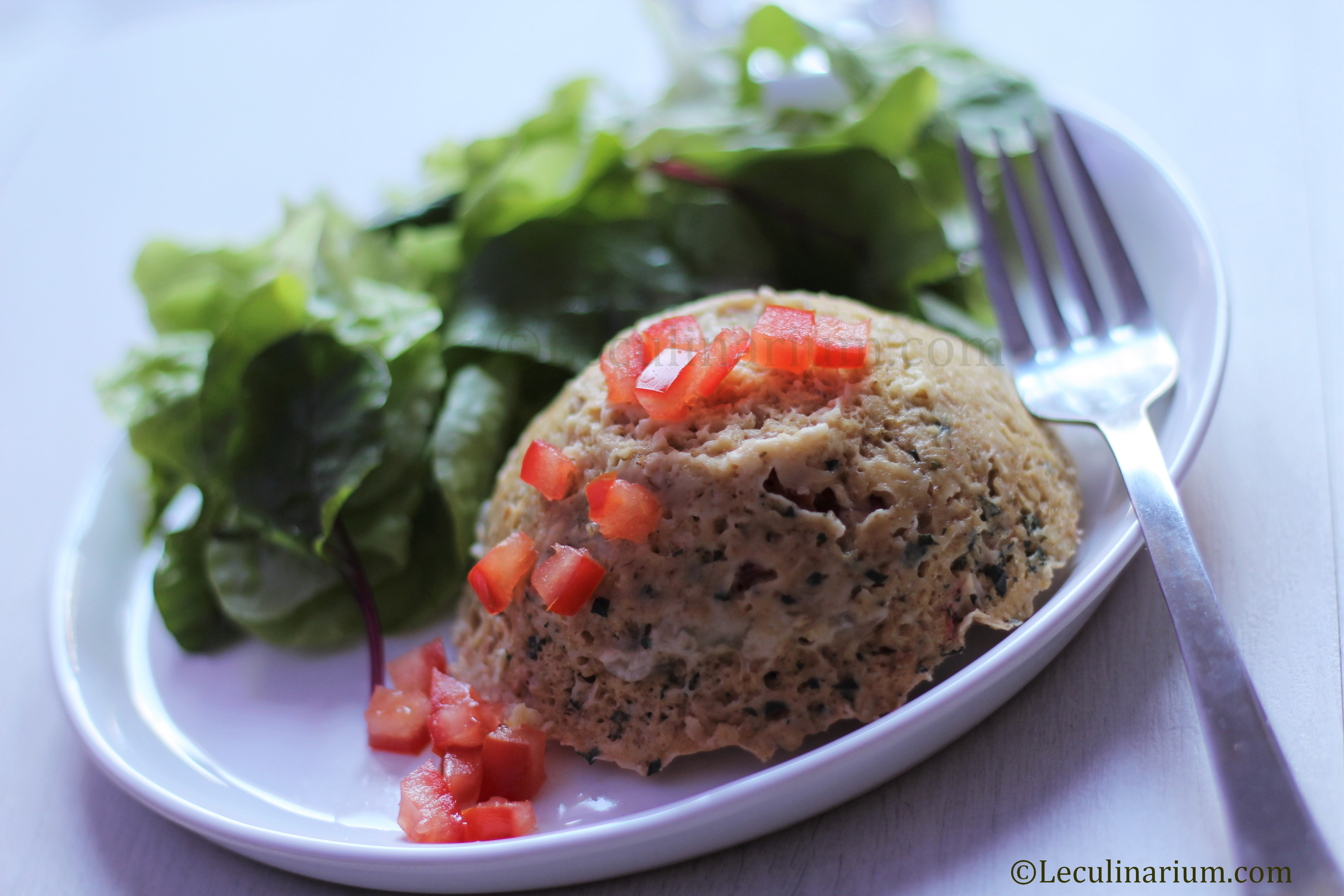 Bowl cake salé tomates mozzarella copyright Le Culinarium