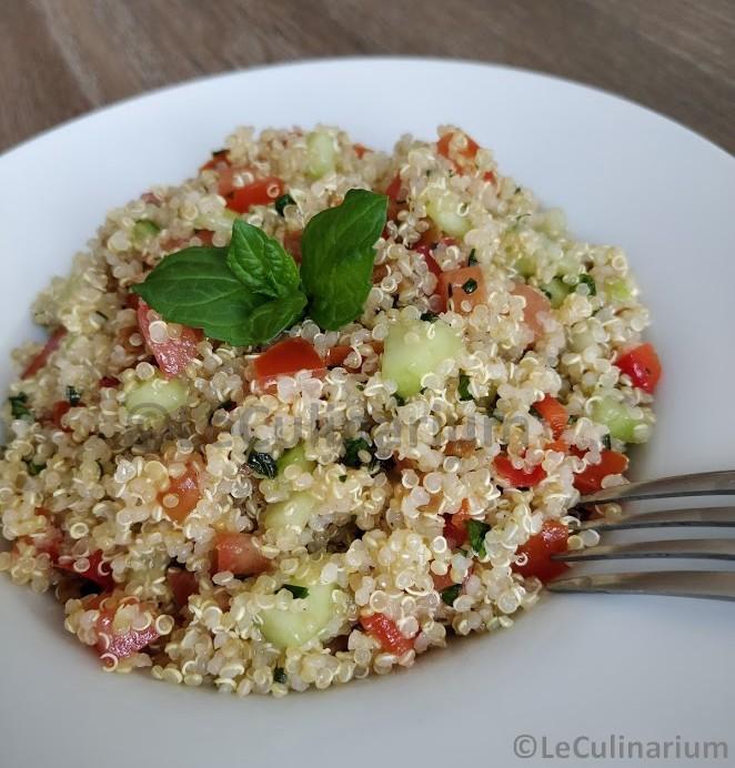 taboulé de quinoa à la menthe VDEF